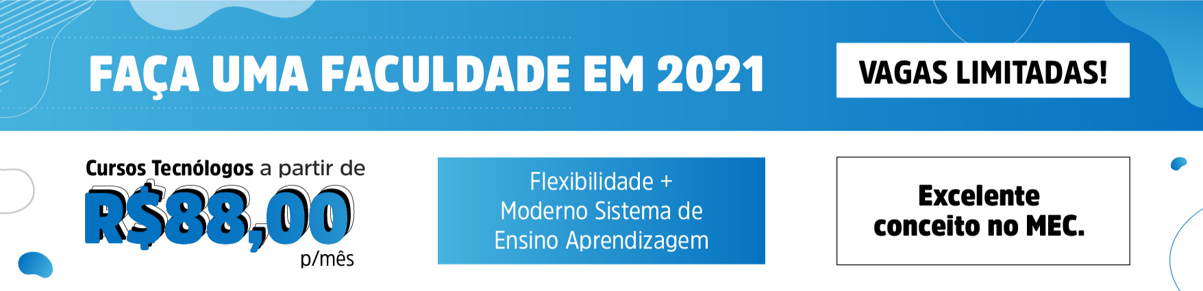 Fa�a Gradua��o em 2021
